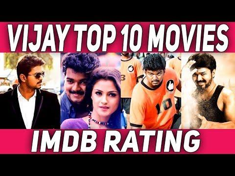 Top 10 Vijay Movies   IMDB   #Nettv4u