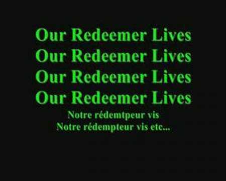 My redeemer lives hillsong