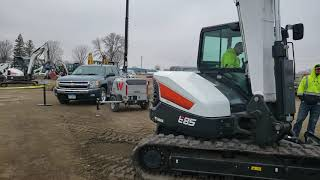 Video still for Farm Rite Open House Walkaround of Bobcat S850 Skid Steer Loader