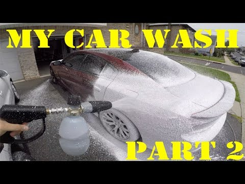 My Car Wash Part 2: The Actual Washing Process