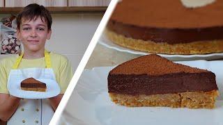 Шоколадный торт без выпечки ШОКОЛАДНАЯ БОМБА