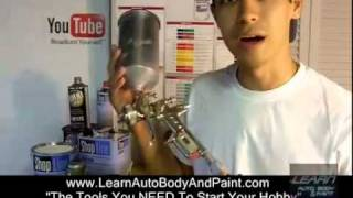 Auto Body and Paint Tools You Need When Starting Auto Body &  Paint Video
