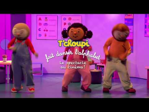 T'choupi fait danser l'alphabet au cinéma ! Bande annonce