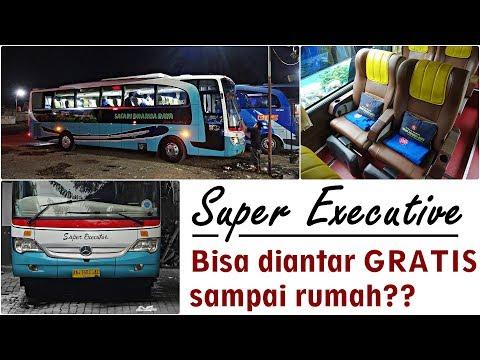 BUS SUPER EKSEKUTIF KE JOGJA | Trip Safari Dharma Raya (OBL) Jakarta - Jogja