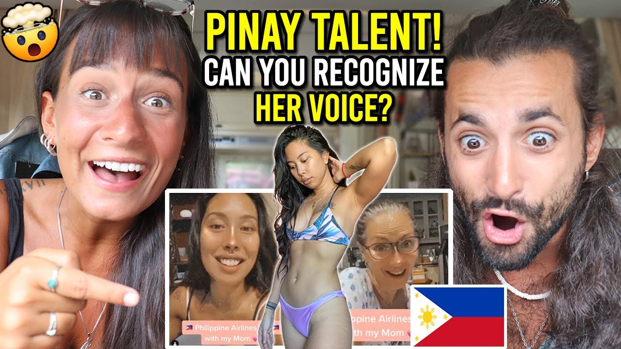 "UNBELIEVABLE FILIPINA Voice Over Artist for PHILIPPINE AIRLINES ""Inka Magnaye"" (MIND BLOWING!)"