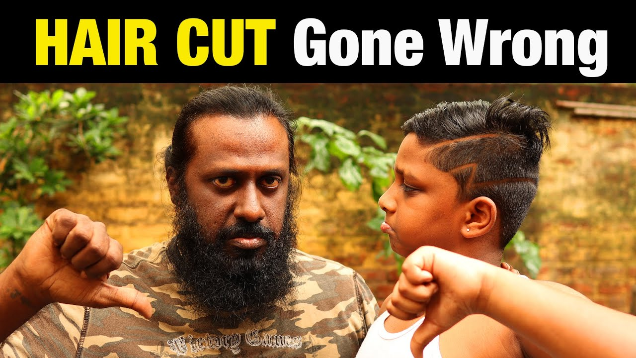 Hair Cut Gone Wrong | Fun turn in to Tragedy | Lock Down Haircut | New Hair Style | Ilan | UV360