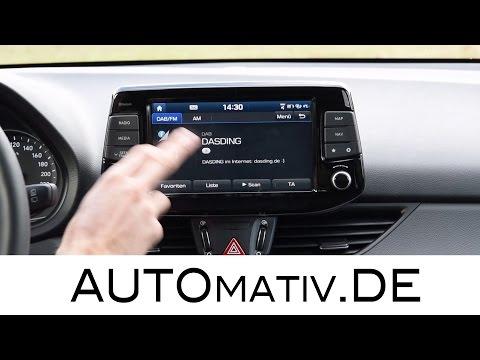 Hyundai i30 Multimedia System 2017 im Tech Check Test