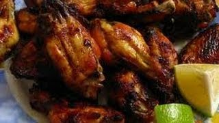 Teriyaki Chicken Wings - How To