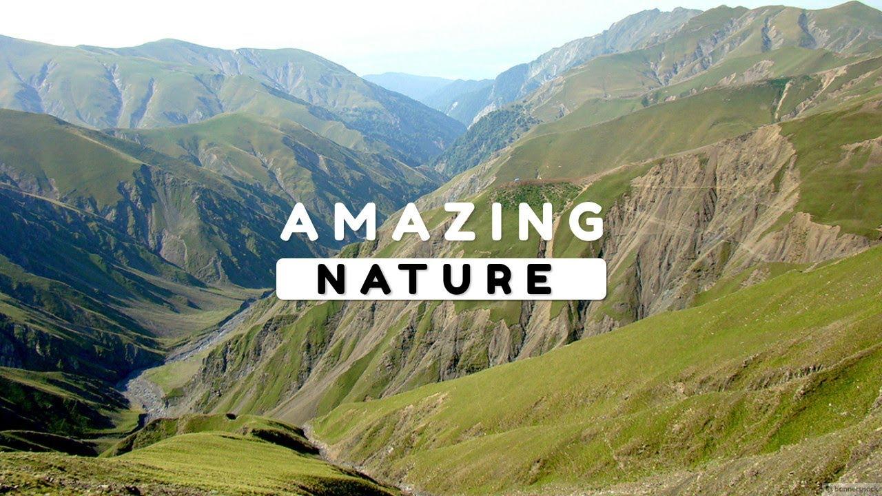 Beautiful Nature Video In Full Hd Summer Season Gamarvan Village
