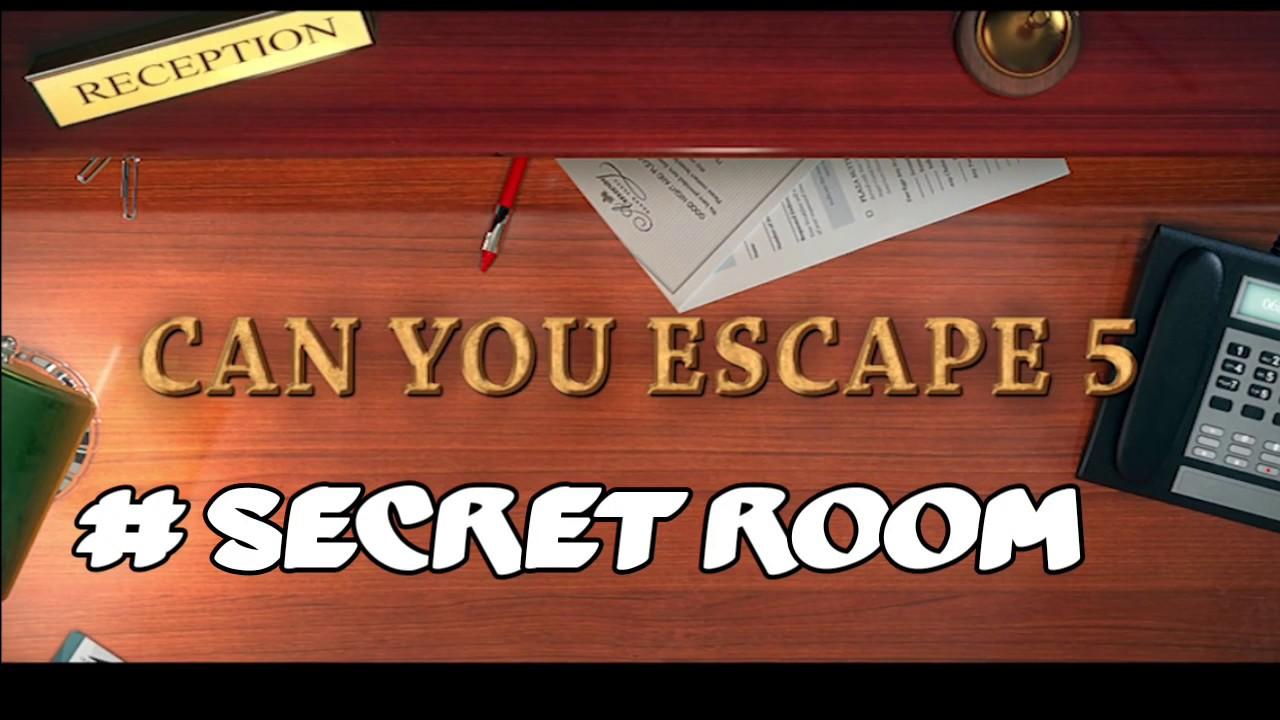 Can You Escape  Secret Room  Walkthrough