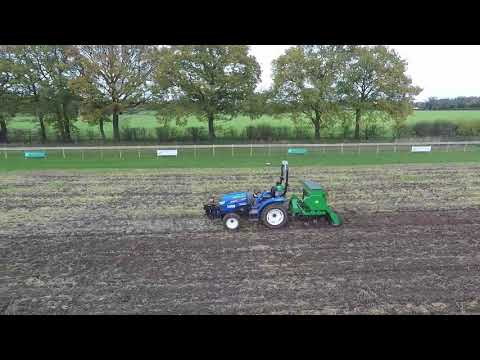 HFH2 -  Drilling winter wheat and crop inspection
