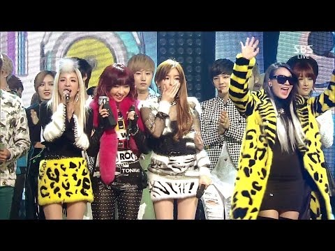 2NE1_1208_SBS Inkigayo_그리워해요(MISSING YOU)_No.1 of the Week