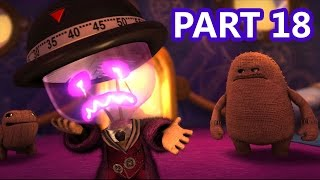 LittleBigPlanet 3 - 100% Walkthrough Part 18 - The Great Escape - LBP3 PS4