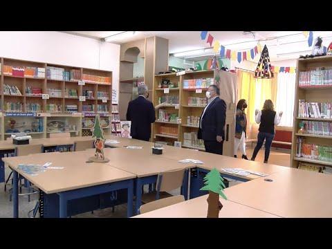 """VÍDEO: El Colegio El Prado, de Lucena, estrena su """"Pradoteca"""" con más de 8.000 libros"""
