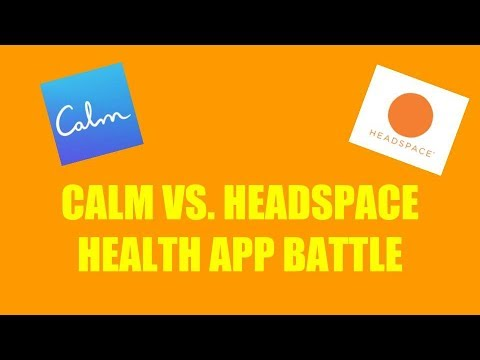 Meditation App Battle Calm Vs. Headspace