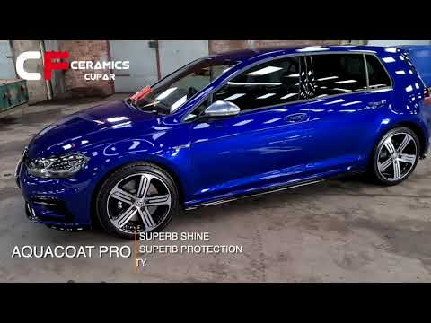 2020 VW GOLF R ceramic coated by CFC Cupar