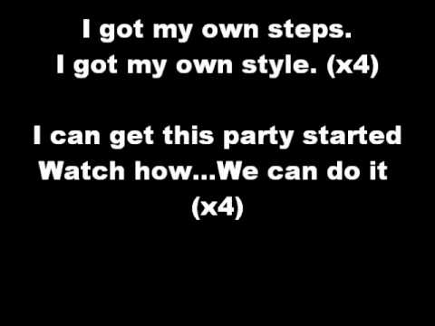 My Own Step Lyrics
