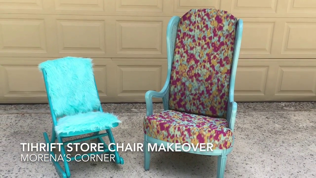 Chair Flip Give Thrift Chairs A Modern Makeover