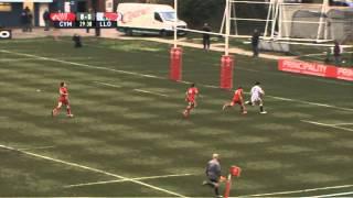 HIGHLIGHTS: Wales Under 18 23 England Under 18 15