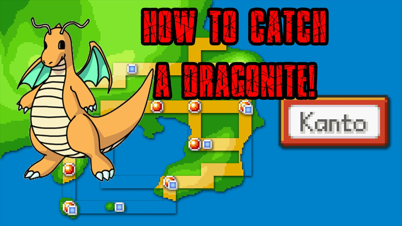 Pokemon Go How To Catch Dragonite Rare Youtube