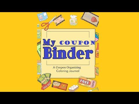 My Coupon Binder 50-page Printable Coupon Organizer