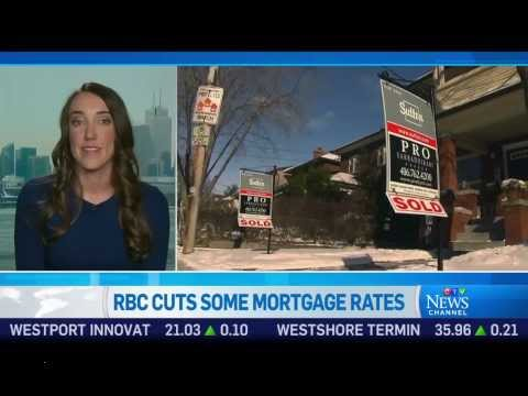 RBC Cuts Some Mortgage Rates