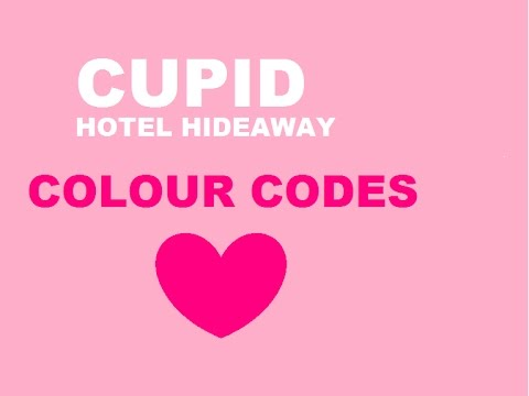 (colour codes for hotel hideaway) | Cupid gaming