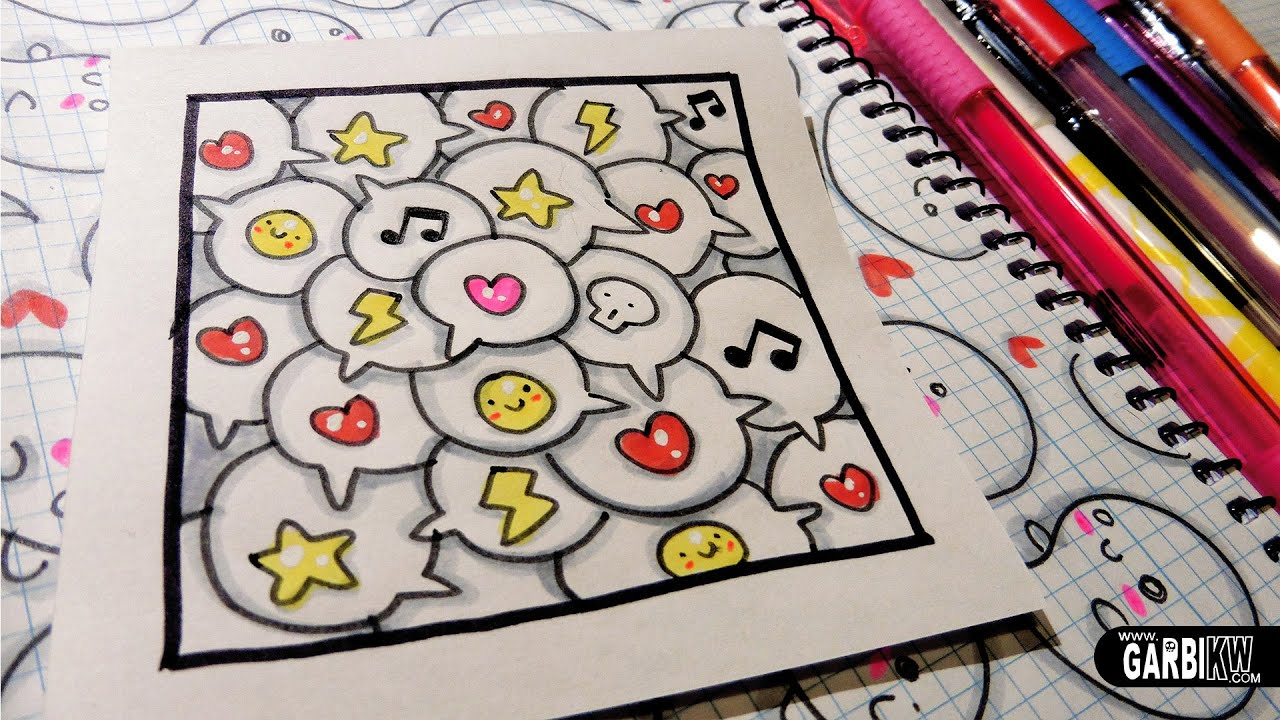 cute comic how to draw patterns for your doodles by