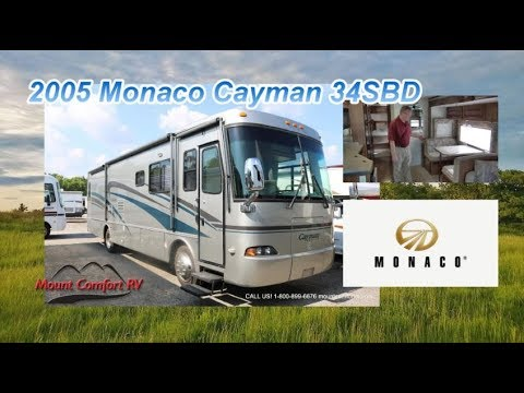 Pre Owned 2005 Monaco Cayman 34sbd Mount Comfort Rv Youtube