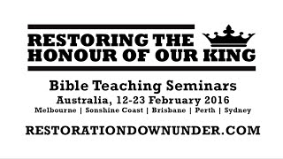 """Restoring The Honour of our King"" Australia Tour by Rico Cortes"