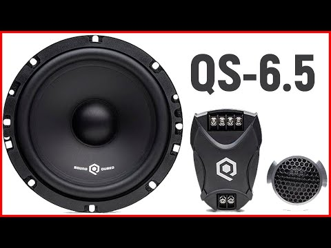 Компонентная акустика QS 6.5, распаковка, обзор, прослушка, моё мнение и отзыв