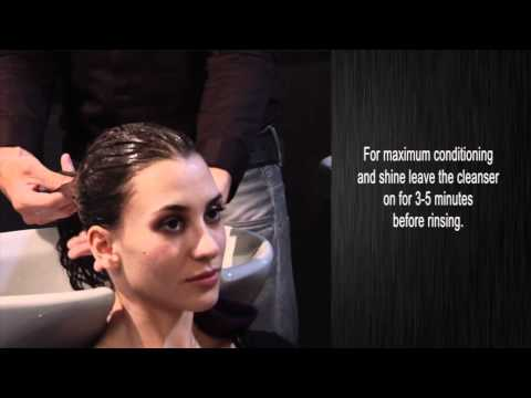 Salon Grafix. Healthy Hair Nutrition. How To USe The Conditioning Cleanser.