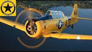 Фільми літачок: політ Т-6 техасець SKYMONKEYYYs