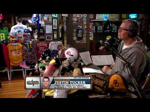Justin Tucker on The Dan Patrick Show (Full Interview)