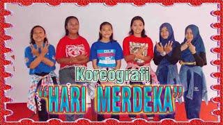 koreografi dan dance lagu Hari Merdeka kelas 9b SMP Paramarta 1 Seputih Banyak