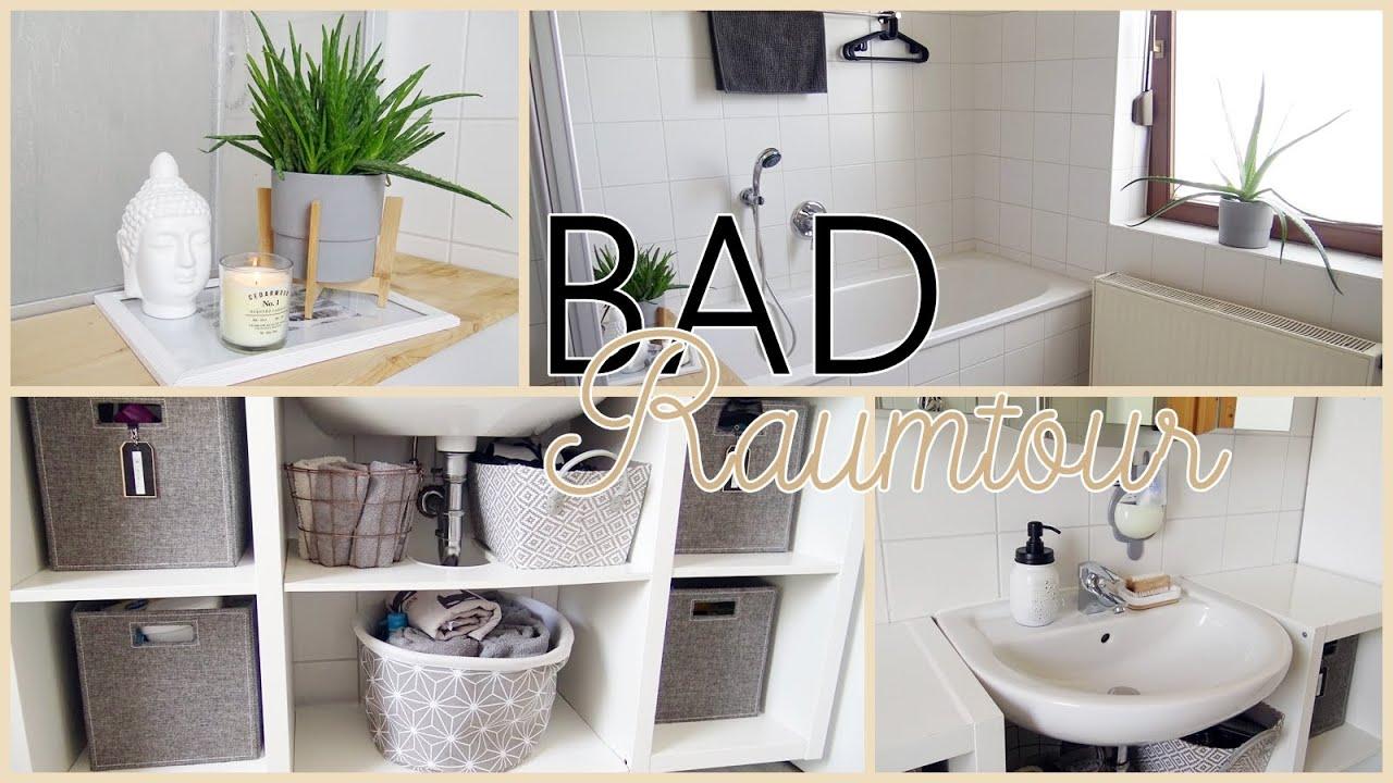 Bad einrichten mit Ikea & Organisation I Unser Bad/Badezimmer I Alenas  Momlife