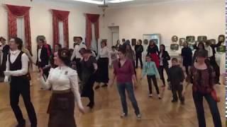 Урок танцев в музее
