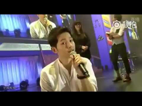 160514 Song Joong Ki sings