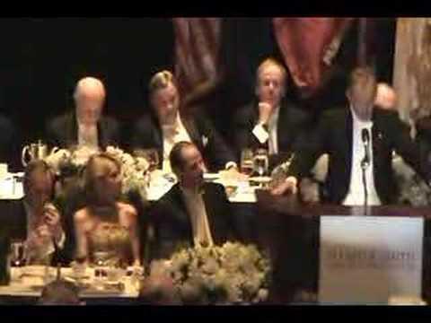 Tony Blair at Alfred E Smith Memorial Dinner