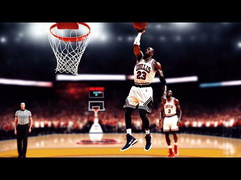 Can Michael Jordan still dunk?  Amazing / Michael Jordan / Fly / Best