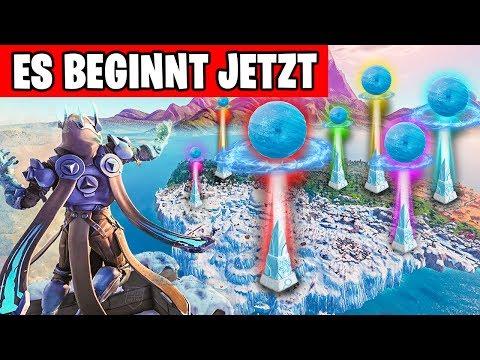 Es BEGINNT JETZT - Eissturm Live Event   Fortnite Eiskugel Deutsch