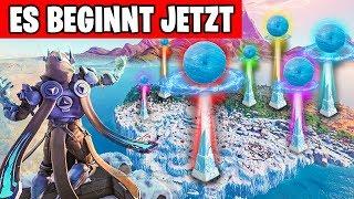 Es BEGINNT JETZT - Eissturm Live Event | Fortnite Eiskugel Deutsch
