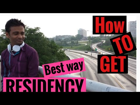 Best and easiest way to settle and become permanent residence#immigration canada#residency#student