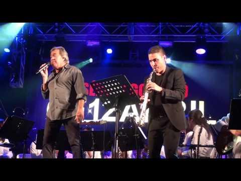 Sérgio Godinho e o Maestro Luis Cardoso no Agitágueda 2016