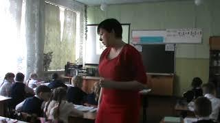 Видео урок литературного чтения в 1 классе
