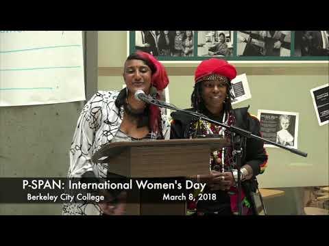 P-SPAN #621: International Women's Day at Berkeley City College