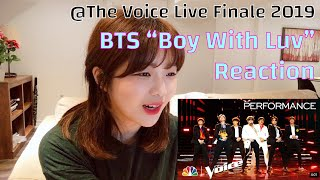 "Baixar 💜 BTS ""Boy With Luv""ㅣThe Voice Live Finale 2019 Reactionㅣ방탄소년단 아미리액션]"