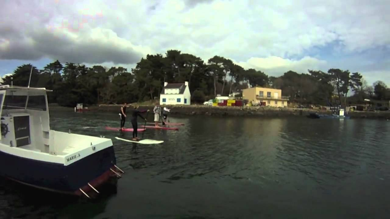 Stand up Paddle sur la rivière de Crach avec Sarah Hébert