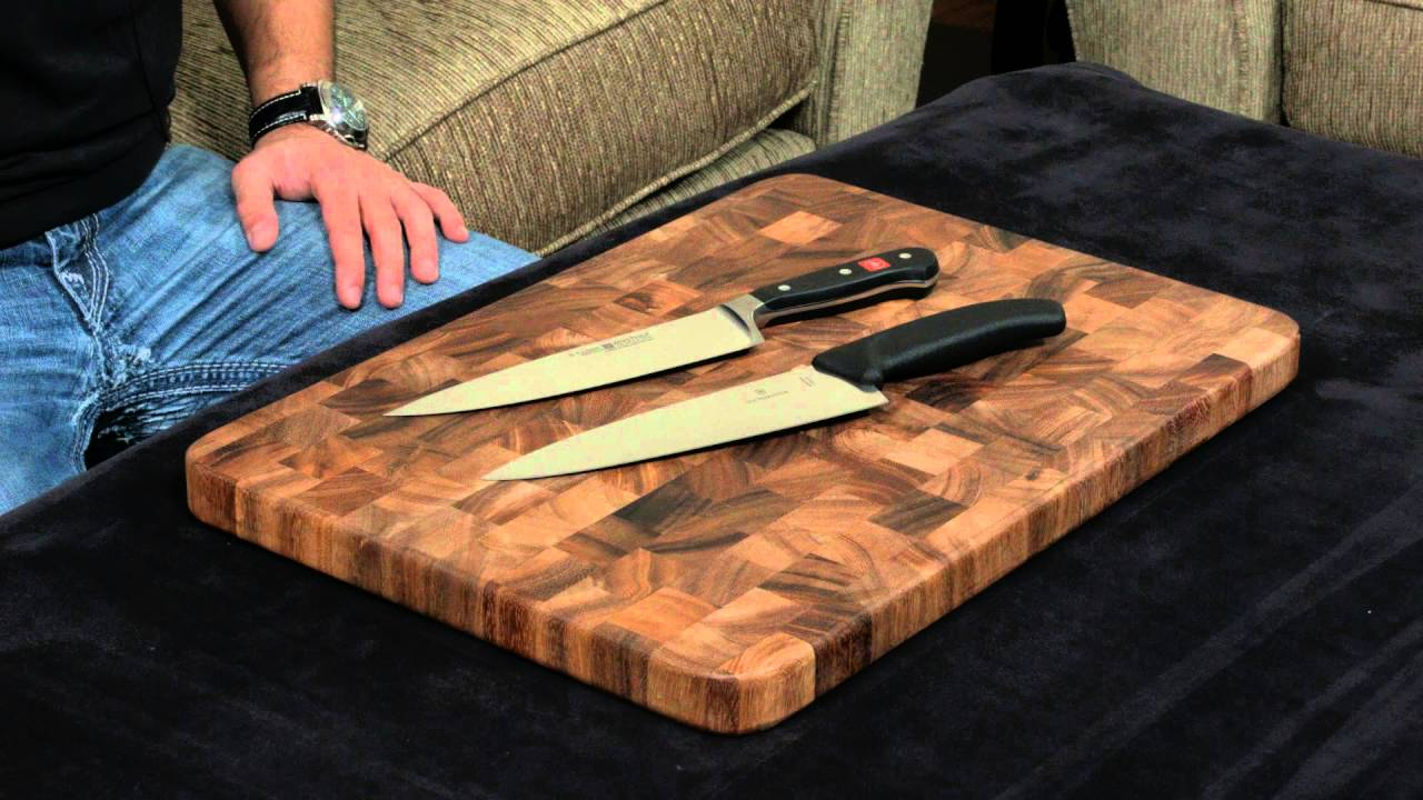 wusthof classic vs victorinox fibrox chef 39 s knife youtube. Black Bedroom Furniture Sets. Home Design Ideas