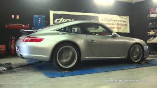 Porsche 997 Carrera S 3.8 355cv Reprogrammation Moteur @ 370cv Digiservices Paris 77 Dyno